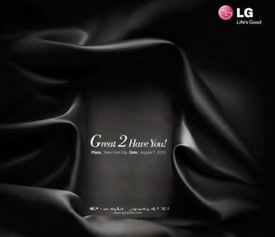 LG ще представи новия смартфон флагман - Optimus G2 на 7-ми август в Ню Йорк