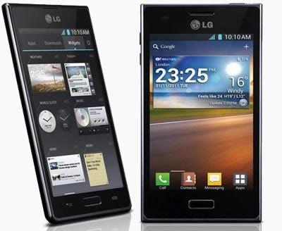 LG показа 3 нови смартфона на MWC 2012