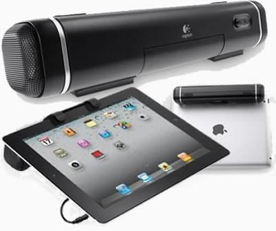 Logitech анонсира iPad-friendly колонка