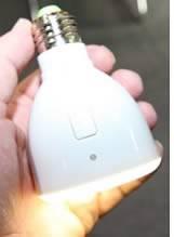 Автономната лампичка Magic Bulb с премиера на IFA 2010...