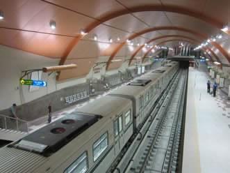 Новата линия на метрото в София вече има 3G покритие