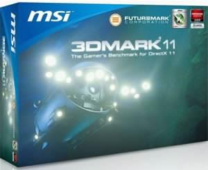 MSI GeForce GTX 580 ще се продава с 3DMark 11
