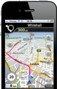 NavFree - безплатна офлайн навигация за iPhone и iPad