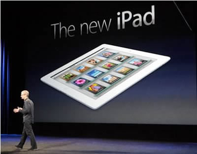 Новият iPad шашка с екран