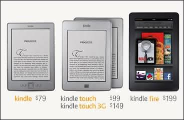 Amazon пусна в продажба нови електронни четци и таблет