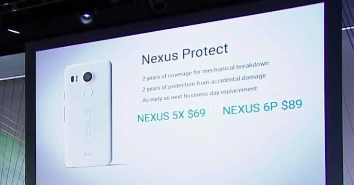 Google отговаря на Apple Care с Nexus Protect