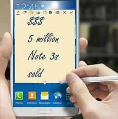 Фаблетът Samsung Galaxy Note 3 с умопомрачителни продажби за месец