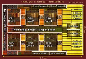 AMD Phenom II X6 1075T много мощ за малко пари...