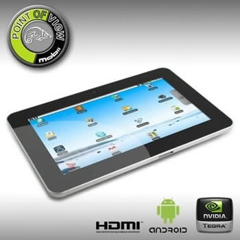 Point of View Mobii tablet вече е в Европа