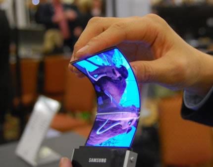 CES 2011 - Samsung демонстрира прототип на уникален, гъвкав екран