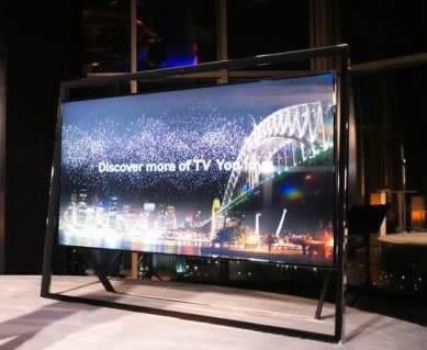 Samsung UN85S9000 UHD TV управлява пералнята ви докато гледате предавания