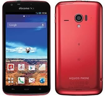 Sharp Aquos Phone Zeta SH-06E - Android �������� � IP57 ������ �� ���� � ����� � ������� TV �����
