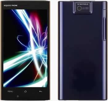 Sharp Aquos Phone 104SH - тънък смартфон с могъщ двуядрен TI OMAP 4460