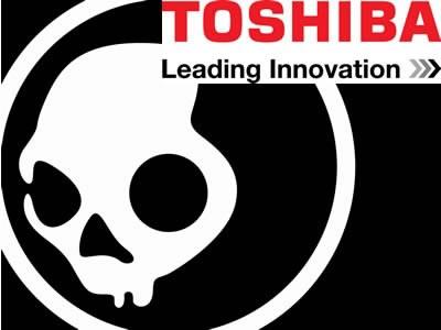 Skullcandy звук в продуктите на Toshiba
