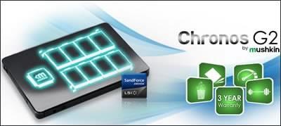 Mushkin Chronos G2 - SSD дискове с капацитет до 480 GB