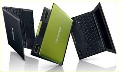 Toshiba ще предложи нови двуядрени нетбуци в началото на 2011г