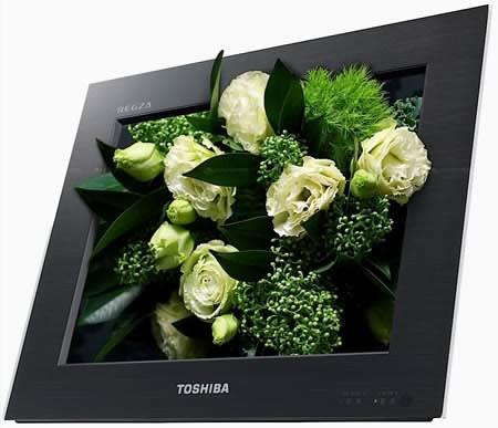 3D без очила в телевизор на Toshiba...