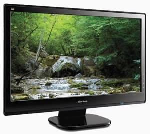 Viewsonic анонсира нови линии LCD монитори с LED подсветка
