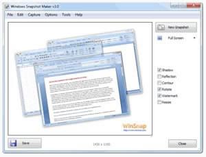 WinSnap, версия 3.5.2 - подобрен инструмент за скрийншоти...