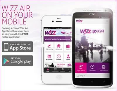 Ново приложение от Wizz Air услеснява услугите на авиокомпанията през смартфон