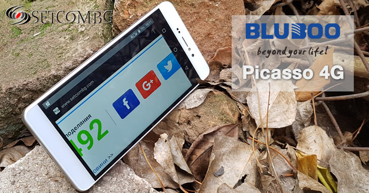 Bluboo Picasso 4G Display