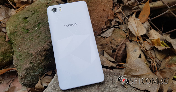 Bluboo Picasso 4G back panel