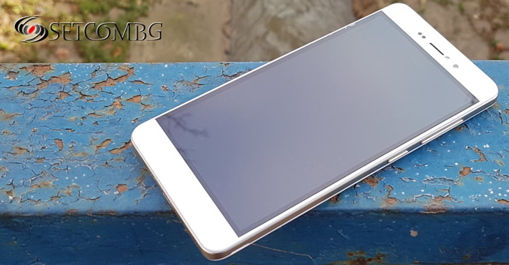 Bluboo Picasso 4G front