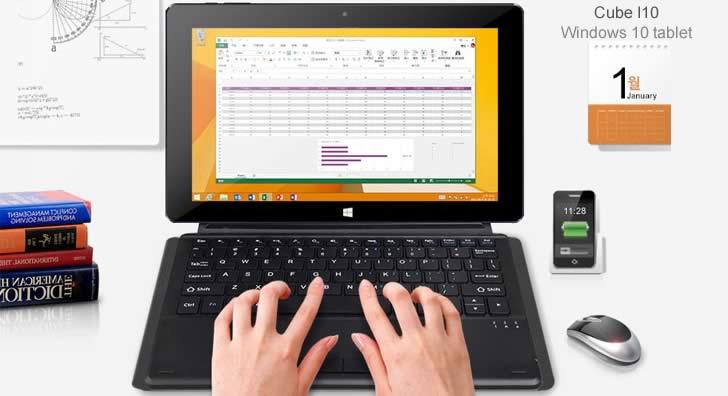 Cube I10 keyboard