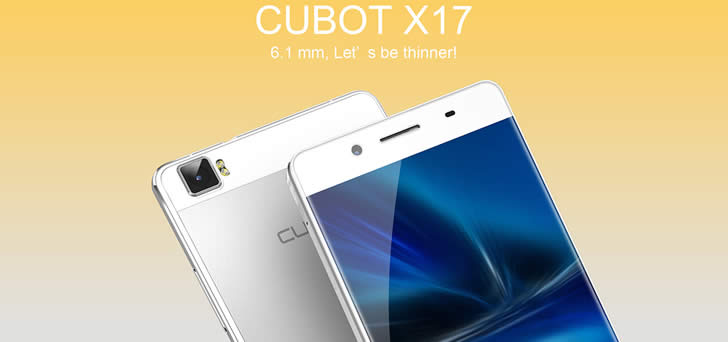 Cubot X17 thin