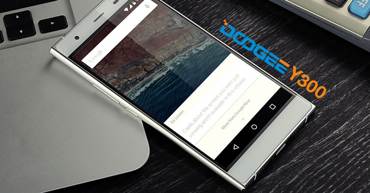 Doogee Y300 display