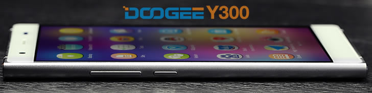 Doogee Y300 frame