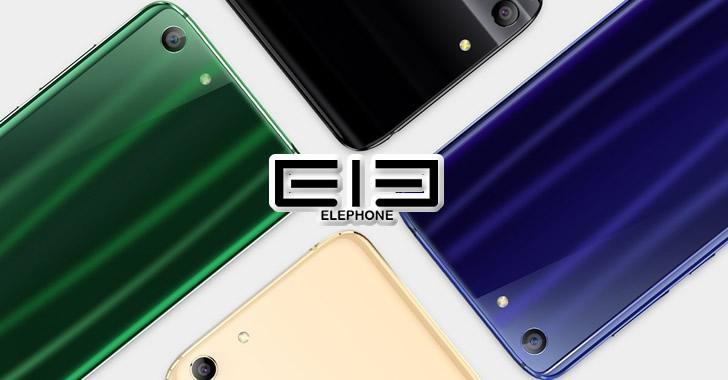 Elephone S7 back panel