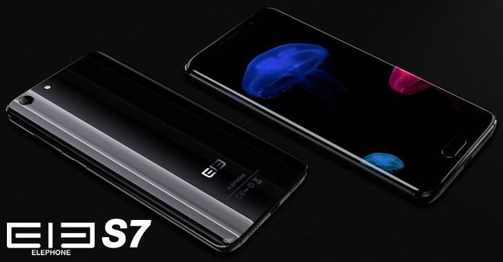 Elephone S7 black