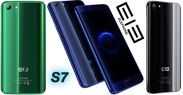 Elephone S7 colors