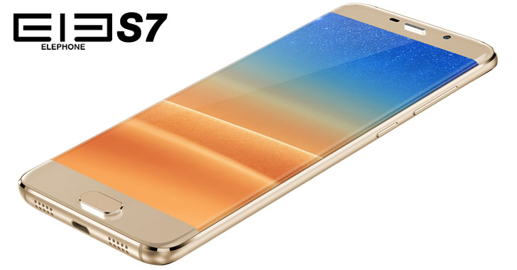 Elephone S7 gold