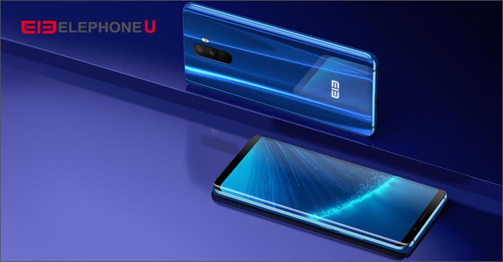 Elephone U blue