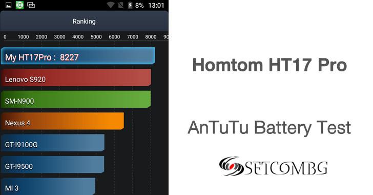 Homtom HT17 Pro battery