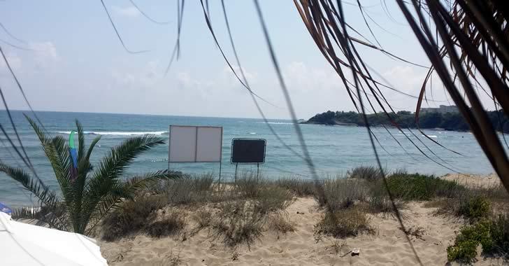 На море в Китен - плаж, ресторанти, барове