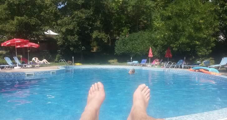 хотел Рилена - басейн