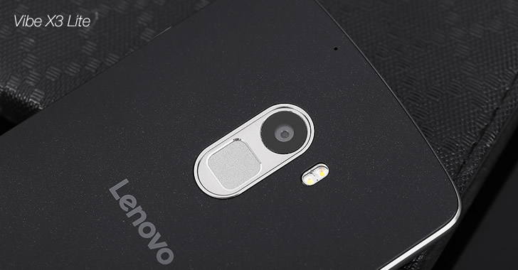 Lenovo Vibe X3 Lite back panel