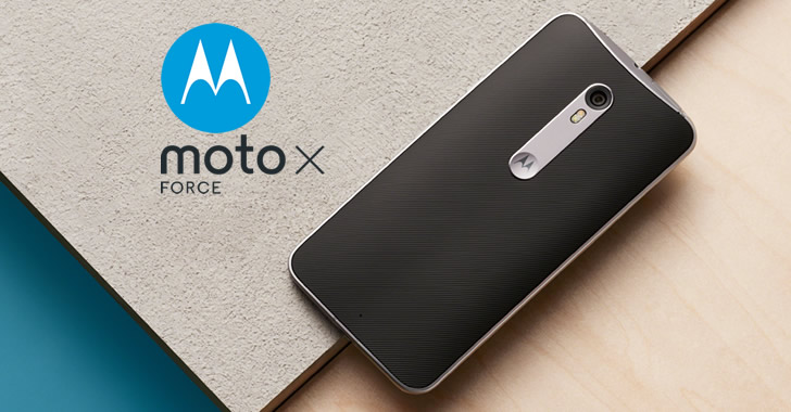 Motorola Moto X Force camera