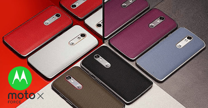 Motorola Moto X Force colors