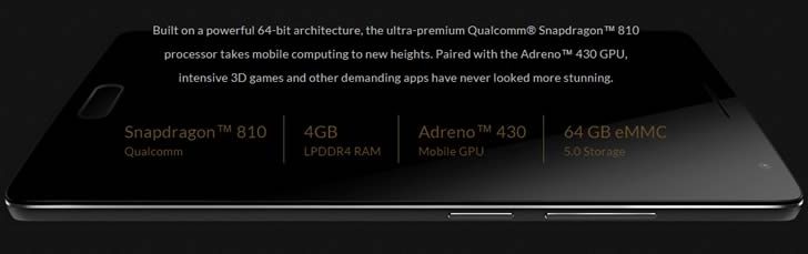 OnePlus 2 - hardware specifications