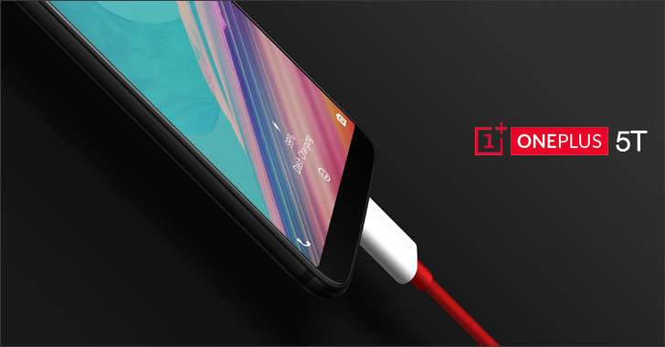 OnePlus 5T dash charge