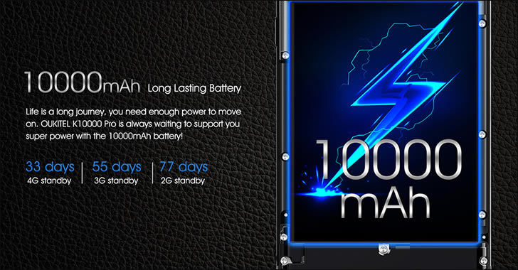 Oukitel K10000 Pro Battery