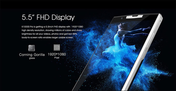 Oukitel K10000 Pro Display