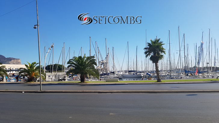 Яхтеното пристанище на Палермо