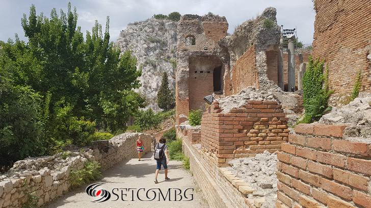 Таормина - античният амфитеатър