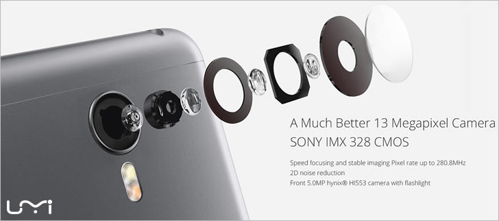 UMI Touch camera