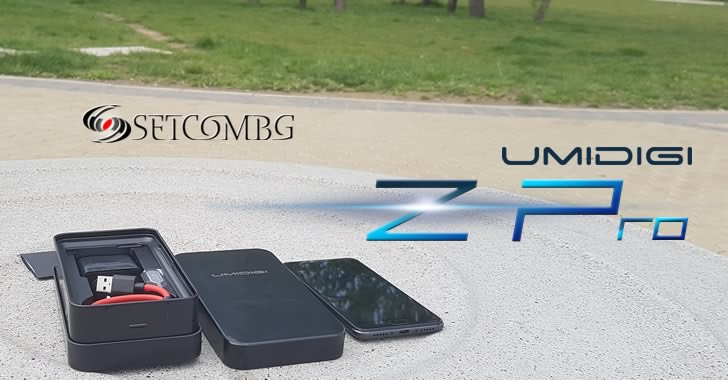 UMIDIGI Z Pro packing